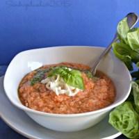 Moulinex Cuisine Companion e un classico della cucina toscana: la pappa al pomodoro