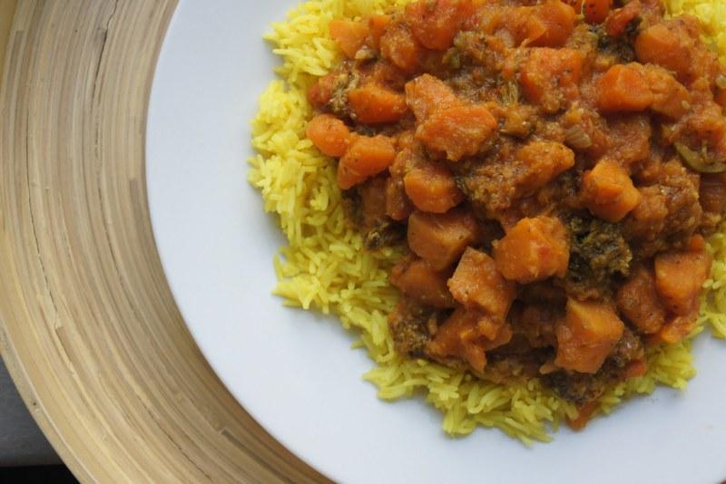 Slow cooker sweet potato curry DSC03876