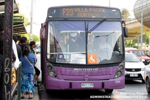 Transantiago - STP Santiago - Neobus Mega LE / Mercedes Benz (WG7195)