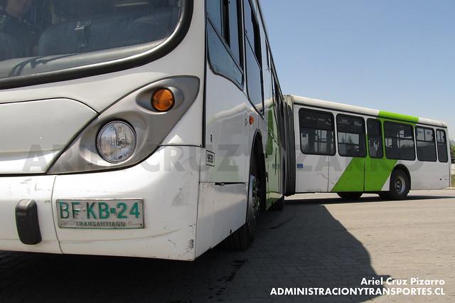 Transantiago - Subus Chile - Marcopolo Gran Viale / Volvo (BFKB24)
