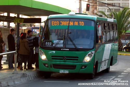 Transantiago - Buses Vule - Caio Foz / Mercedes Benz (FLXB17)