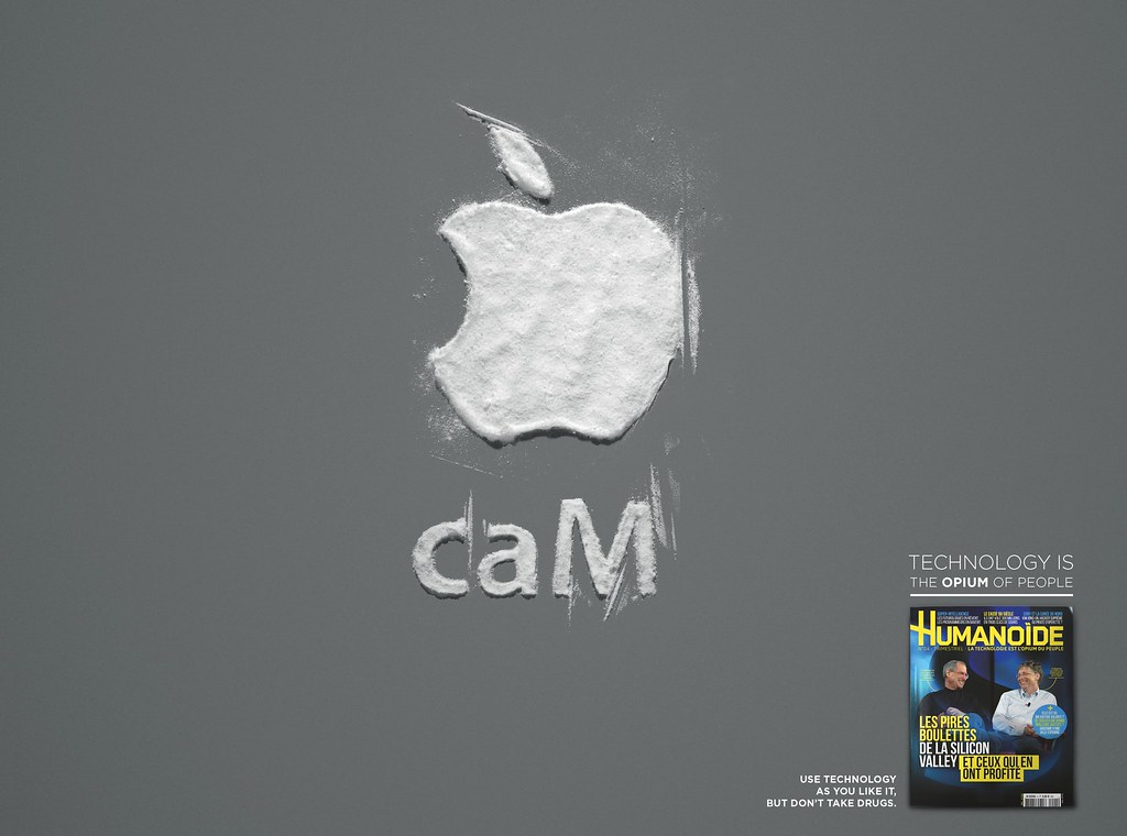 Humanoide - Technology is the opium of people Apple
