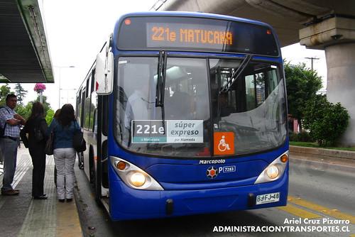 Transantiago - Subus Chile - Marcopolo Gran Viale / Volvo (BJFJ48)