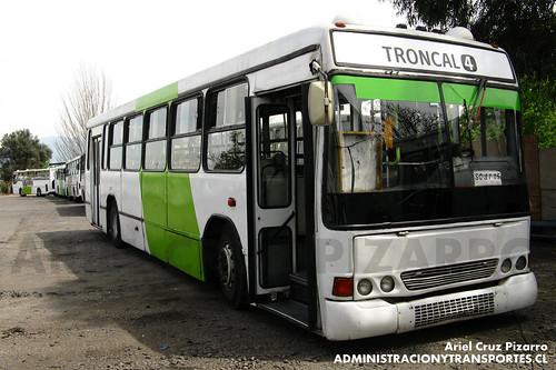 Transantiago - Express de Santiago Uno - Marcopolo Torino GV / Volvo (SG3735)