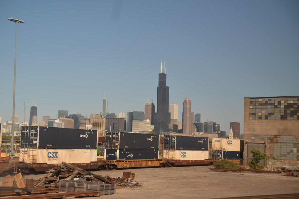 Chicago skyline 10-8-14
