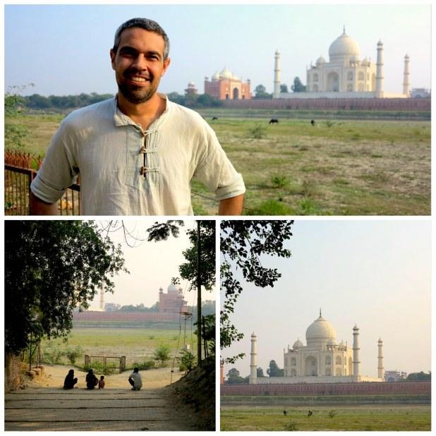 Atardecer Taj Mahal