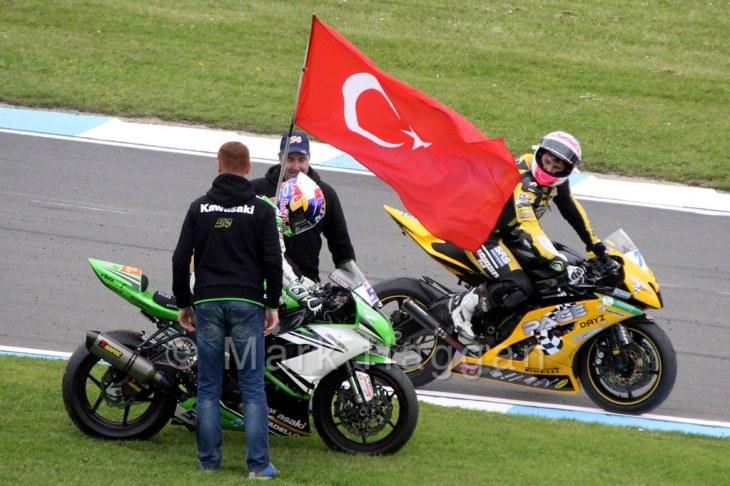World Superstock Racing at Donington, May 2015