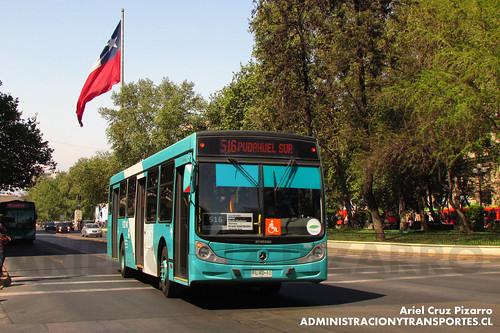 Transantiago - Metbus - Caio Mondego H / Mercedes Benz (FLXD40)
