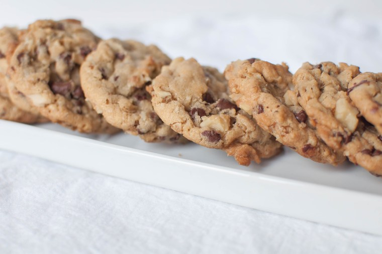 Oatmeal Chocolate Chip Cookies 5
