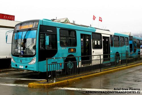 Transantiago - Metbus - Caio Mondego H / Mercedes Benz (FLXK87)