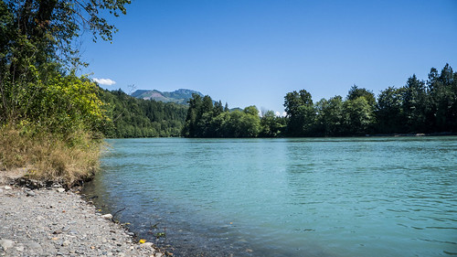 Skagit River and Baker River Confluence-003