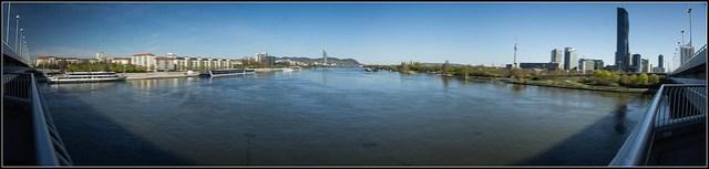 Donau von der Reichsbrücke