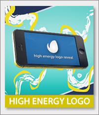 Energetic, fun, dynamic logo reveal