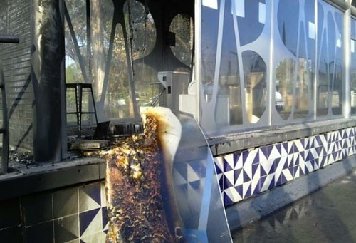 Ataques con explosivos en INE, SE y Metrobús de Puebla