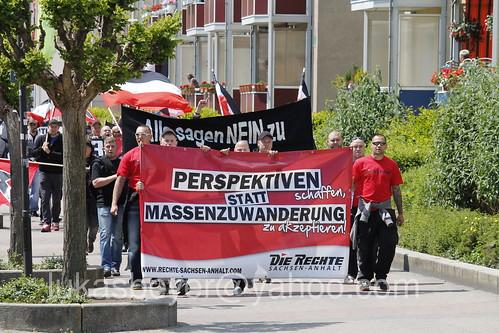 Neonazikundgebung in Halberstadt