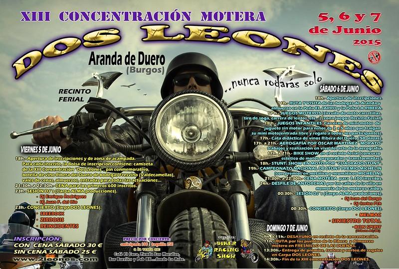 XIII Concentración Motera Dos Leones - Aranda de Duero