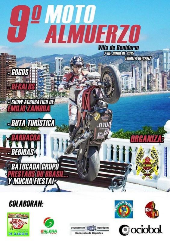 9º Moto Almuerzo Benidorm - Alicante