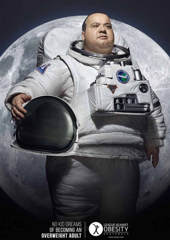 League Against Obesity - Space Heroes
