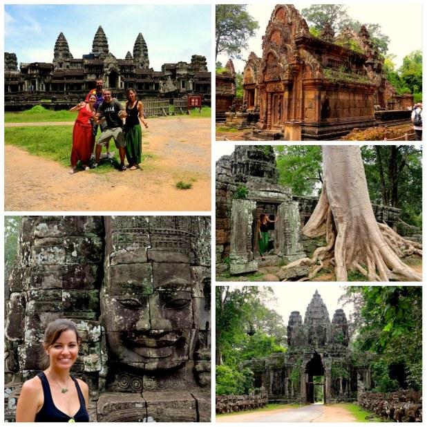 Templos Angkor en Siem Reap