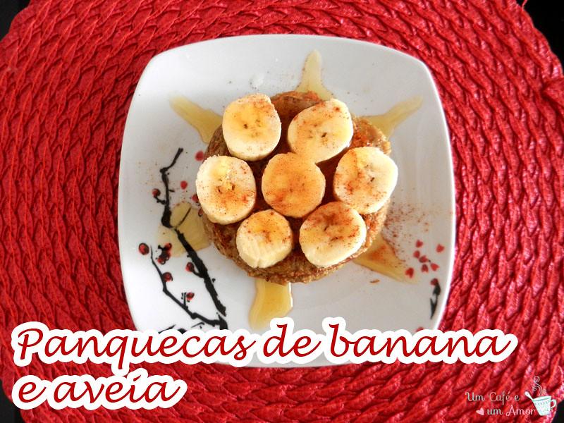 Panquecas de Banana e Aveia