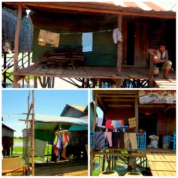 Aldea cerca Tonle Sap