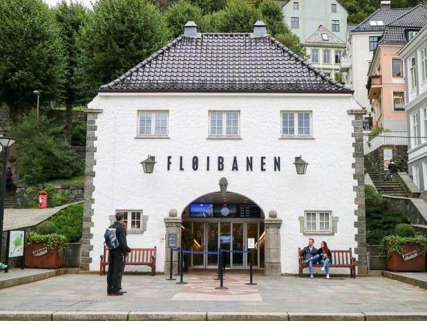 Visitar Bergen y el Fløibanen