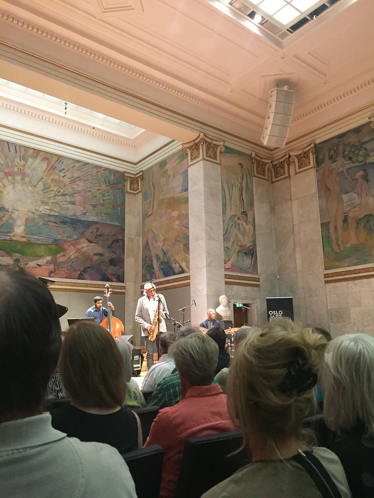 Charles Lloyd New Quartet, Oslo Jazz Festival 2016
