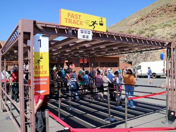 Ticket online Teleferico del Teide