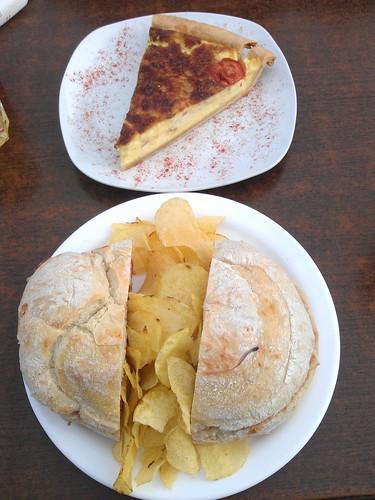 Dónde comer y gastronomía en Mdina (Malta) - Restaurante maltés Fontanella Tea Garden. ViajerosAlBlog.com