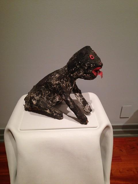 Sam Doyle, Seated Dog