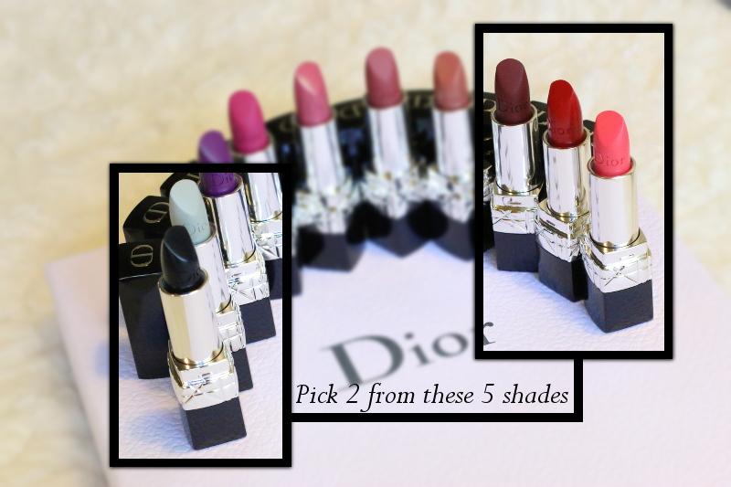 Dior makeup, rouge dior lipstick shades, giveaway