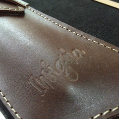 Insignia Leather Pouches
