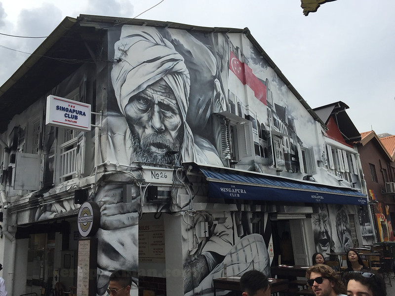 Mural at Haji Lane