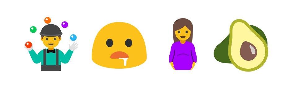 emoji android nougat 1