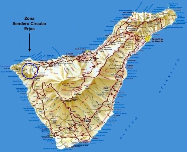 Senderos en Tenerife
