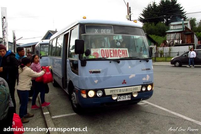 Quemchi Expreso (Chiloé) | Mitsubishi Fuso Rosa / UC2560