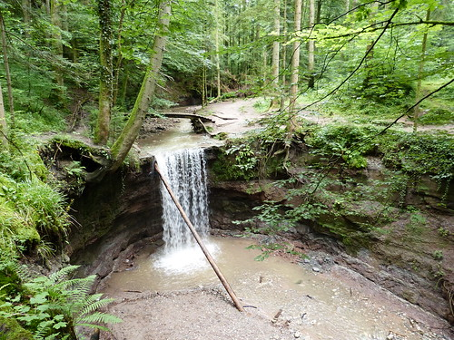 The first Hörschbach waterfall