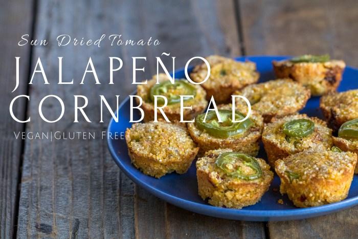 Sun Dried Tomato Jalapeno Cornbread | Conscious Chris