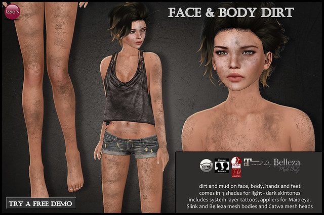 Face & Body Dirt (for MBA)
