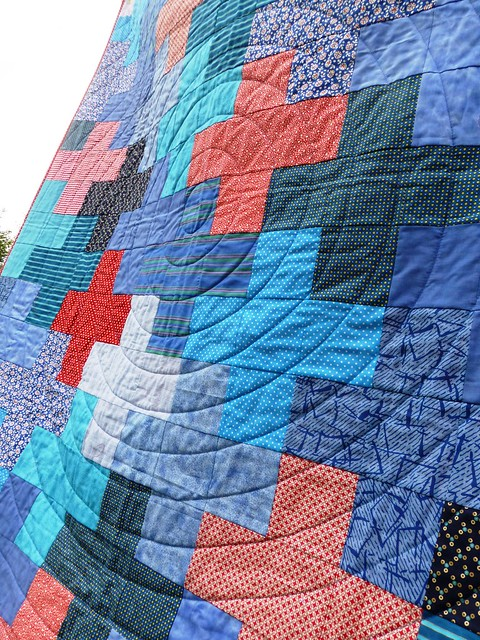 Jonah's Plus quilt Mar13 008