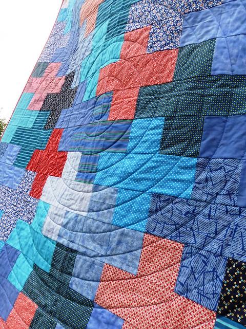 Jonah's Plus quilt Mar13 008