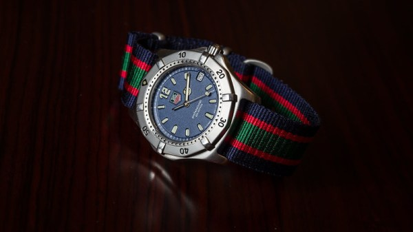 Tag Heuer on a NATO