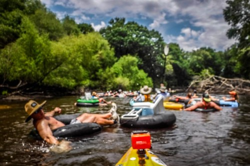 Edisto Beer Commercial and Rope Swing Float-112