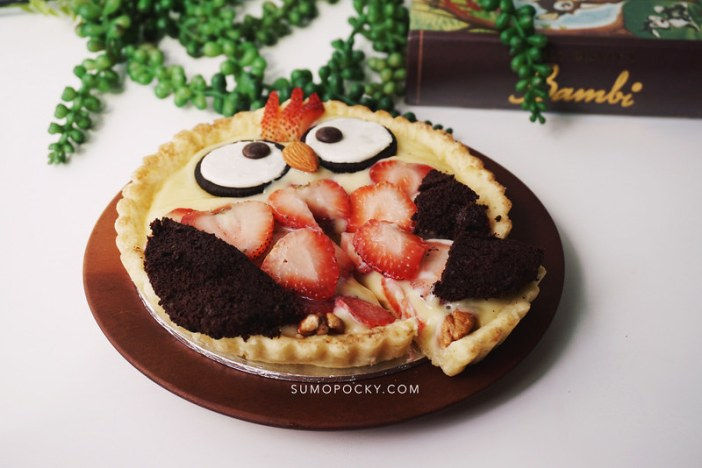 Owl Fruit Tart