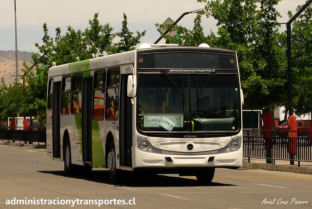 Transantiago - Buses Vule - Caio Mondego H / Mercedes Benz (BJFR89)