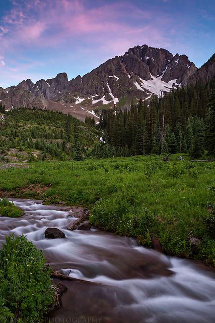 Mount Sneffels Evening