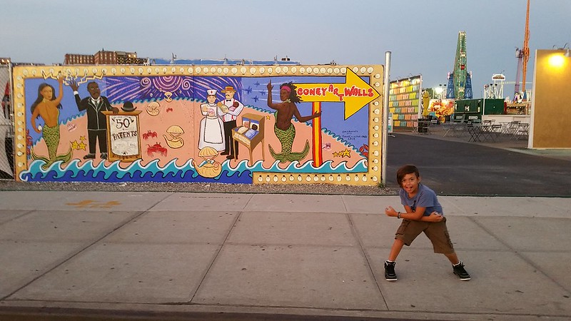 Coney Art Walls with Marie Roberts