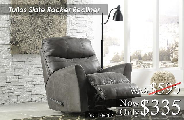 Tullos Slate Rocker Recliner 69203