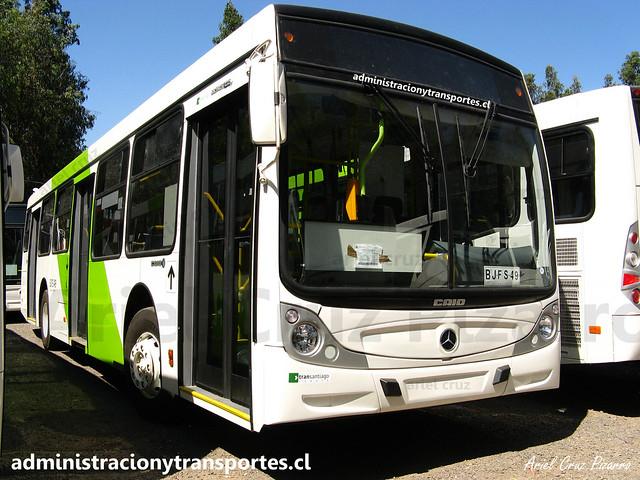 Transantiago | Buses Vule | Caio Mondego H - Mercedes Benz O500U / BJFS49