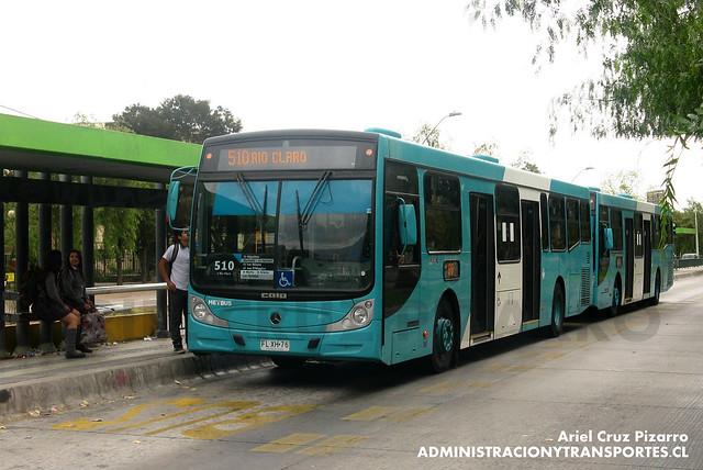 Transantiago - Metbus - Caio Mondego H / Mercedes Benz (FLXH76)